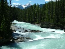 Free The Rockies - Glacial River 3 Stock Photo - 5567190