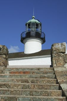 Free Up To The Lighthouse Royalty Free Stock Image - 5567506