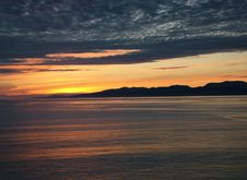 Free Alaska - Sunset Royalty Free Stock Images - 5567609