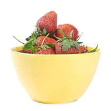 Free Strawberries In Cup Royalty Free Stock Image - 5567626