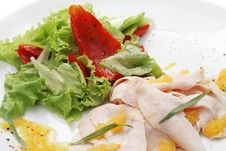 Free Chicken Breasts Carpaccio Stock Photos - 5567663