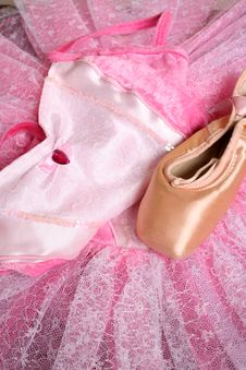 Ballet Costume Royalty Free Stock Photo