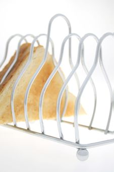 Toast Holder And Toast Stock Images