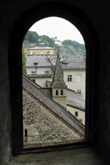 Free Rooftops In Salzburg Royalty Free Stock Photography - 5567987