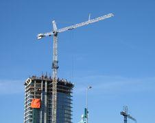 Construction Of A Tower Stock Photos