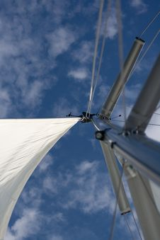 Free Sails In The Wind Royalty Free Stock Photo - 5569195