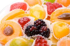 Free Background From Fruit Candy Stock Photos - 5569243