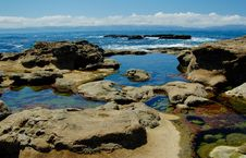 Free Rocks At The Low Tides Stock Photo - 5569360