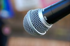 Free Microphone Stock Image - 5569951