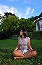 Free Girl Doing Yoga 6 Stock Images - 5570314
