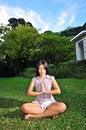 Free Girl Doing Yoga 7 Stock Photography - 5570472