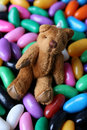 Free Jelly Beans Teddy Royalty Free Stock Images - 5571399