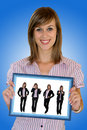 Free Young Business Girl Royalty Free Stock Photo - 5574145