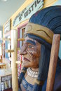 Free Cigar Shop Indian Chief Stock Images - 5577624