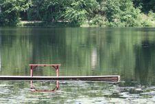 Lake Dock Royalty Free Stock Image