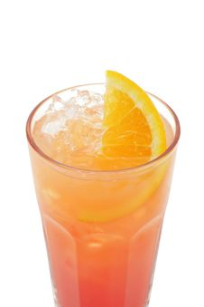 Free Cocktail - Tequila Sunrise Stock Image - 5570851