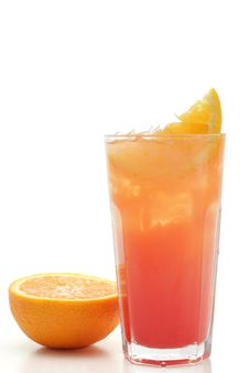 Free Cocktail - Tequila Sunrise Stock Photos - 5570853