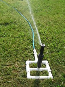 Free Water Sprinkler Stock Photography - 5571132