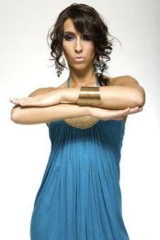 Free Latino Woman Royalty Free Stock Images - 5571709