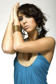 Free Latino Woman Royalty Free Stock Image - 5571766
