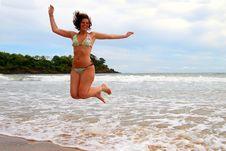 Free Joyful Woman Royalty Free Stock Photo - 5572155