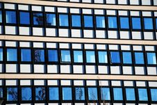 Free Modern Office Building With Window Reflections Stock Photo - 5572180