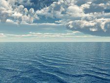 Free Sea Sky Stock Image - 5572251