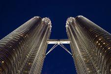 Free Kuala Lumpur Twin Towers Stock Photos - 5572703