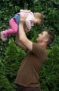 Free Father And Daughter Royalty Free Stock Image - 5572856