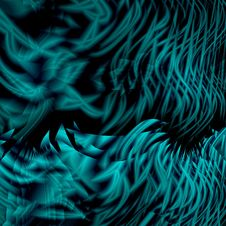 Aqua Abstraction Royalty Free Stock Photography