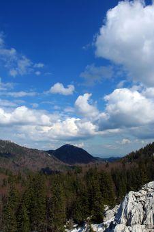 Free Mountain Scene, Velebit, Croatia Stock Image - 5573271