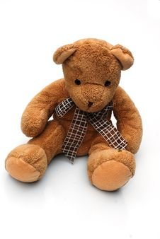 Free Brown Teddy Royalty Free Stock Photo - 5573335