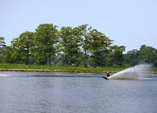 Free Water Skiing Royalty Free Stock Photography - 5573357