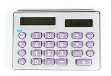 Free Calculator (on White) Royalty Free Stock Photos - 5573498
