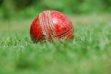 Free Hit For Six –old Cricket B Royalty Free Stock Photo - 5573695