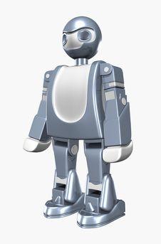 Free Robo 3D Royalty Free Stock Photos - 5573758