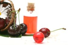 Cherry Aromatherapy Royalty Free Stock Photo
