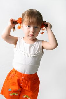 Free Little Girls Stock Photo - 5573970