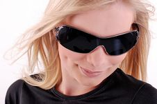 Free Woman With Sunglasses Royalty Free Stock Photo - 5573985