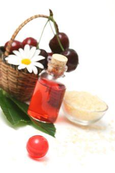 Cherry Aromatherapy Royalty Free Stock Photos
