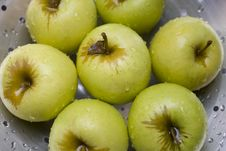 Free Apples On Colander Stock Photo - 5574430