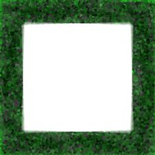 Free Green Crystal Frame Royalty Free Stock Photography - 5574687