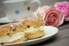 Free Cream Tea Royalty Free Stock Photography - 5575367