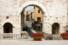 Spello Royalty Free Stock Photo