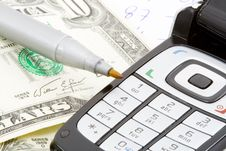 Free Money On Call Royalty Free Stock Photo - 5575815