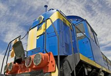 Shunting Locomotove. Royalty Free Stock Images