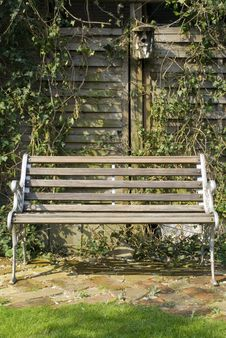 Free Old Bench Royalty Free Stock Image - 5577306