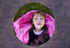 Free Pink Girl Royalty Free Stock Image - 5577426