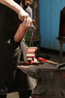 Free The Blacksmith Stock Image - 5578391