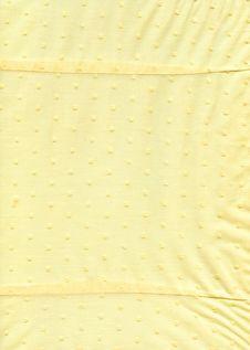 Free Yellow Fabric Textile Texture Royalty Free Stock Photo - 5579825